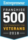 Franchise 500 Top Franchise for Veterans